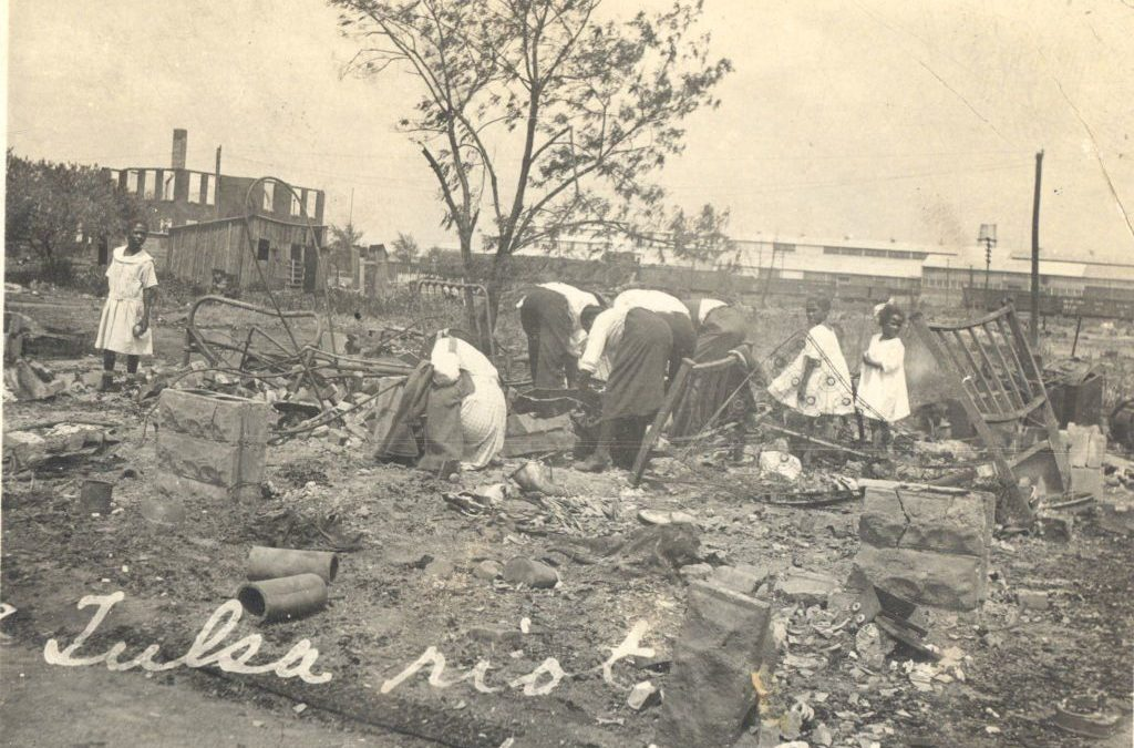 Archeologist said to have found mass grave 1921 Tulsa massacre by US Government and fine citizens of Tulsa Oklahoma